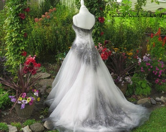Ombre Wedding Dress Etsy