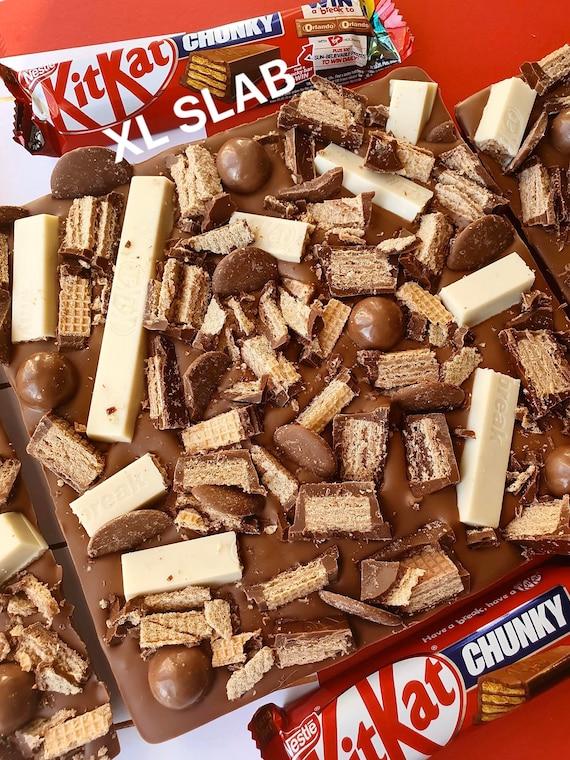 6 Personnalisé Deux Doigt KIT KAT chocolat emballages seulement IDÉAL FÊTE CADEAU ENFANTS