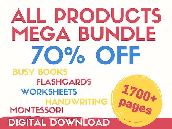 BUSY BOOK Busy Book Printable Mega Bundle Busy Book