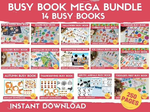 Busy Book Toddlers Mega Bundle Preschool Busy Book