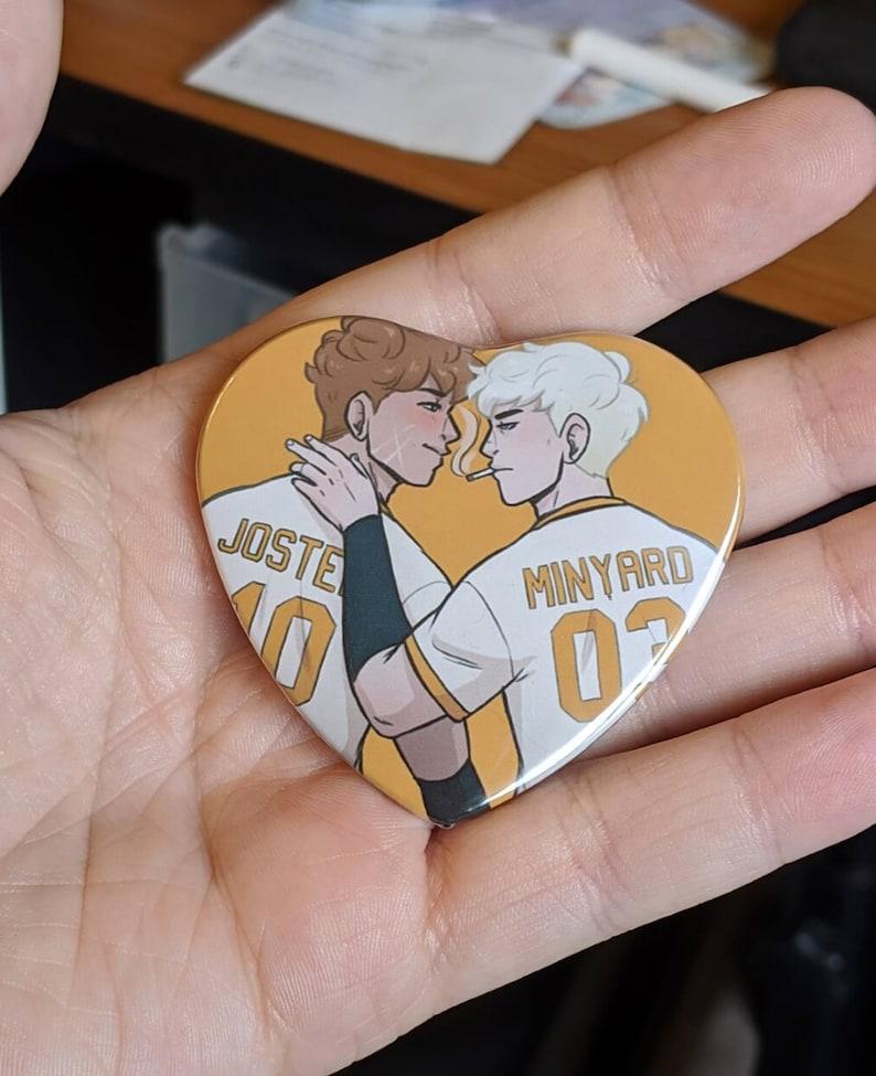 Andreil Heart Buttons