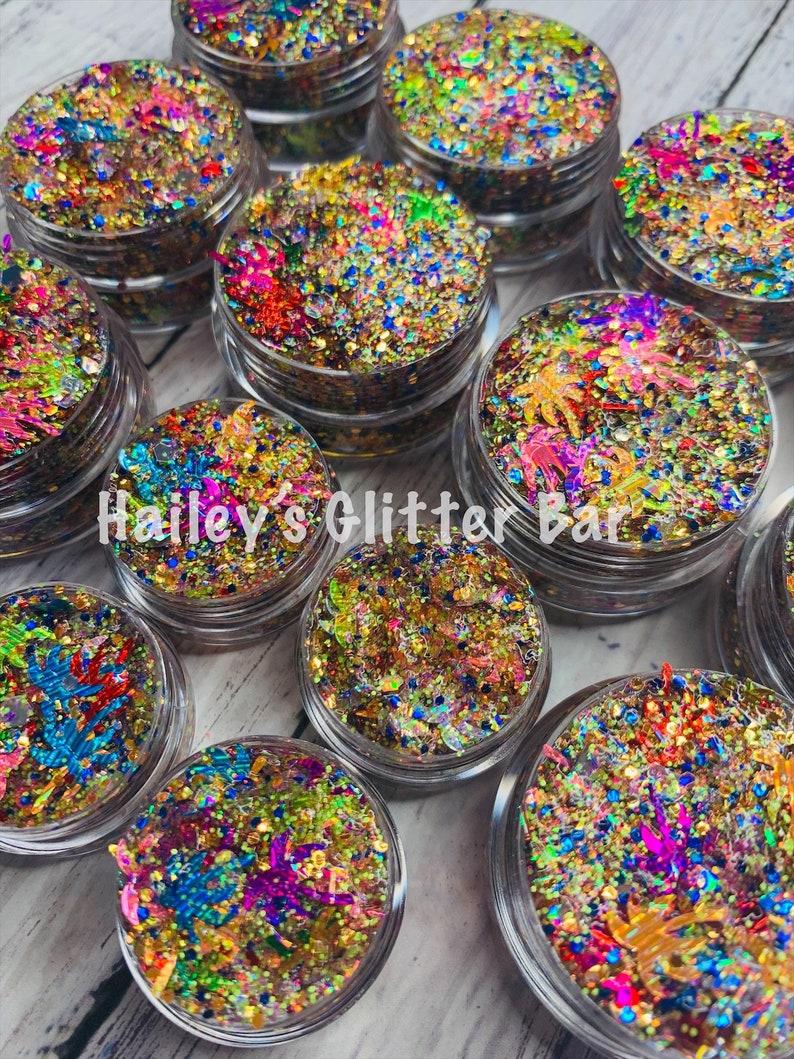 TROPICAL ~ FestivalParadeParty Body /& Hair Glitter Gel