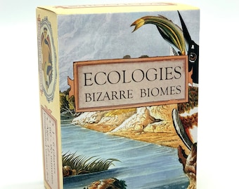 Ecologies: Bizarre Biomes - Gameplay Inspired by Nature - Sequel and Expansion to the Original Card Game - Beautiful Vintage Scientific Art