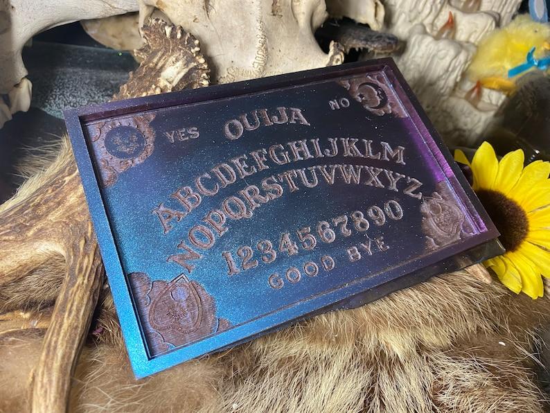 Small Resin Ouija Board Tray image 0