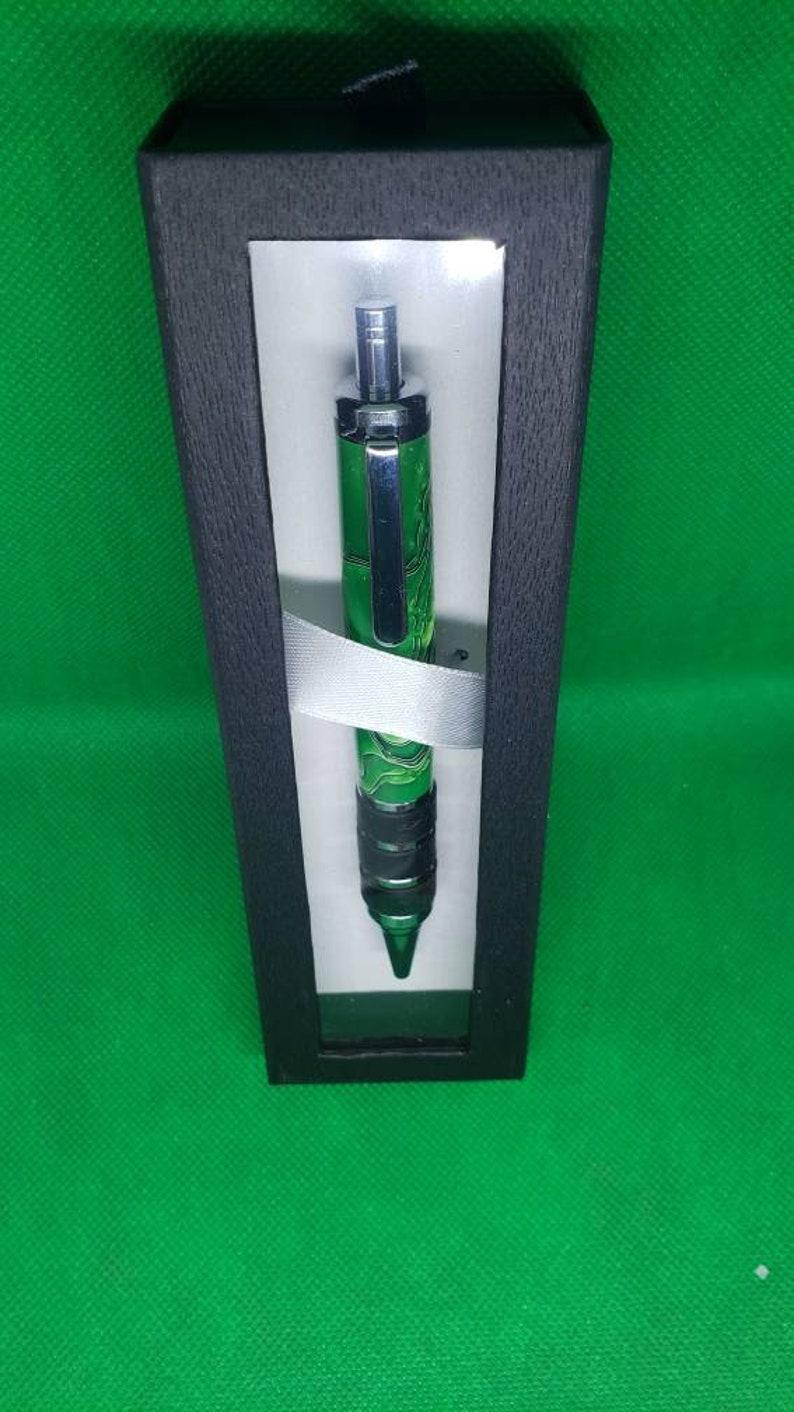 Guardian Jr Grasshopper Green Clickpen