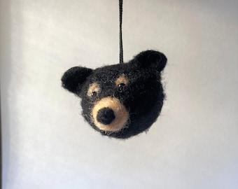 Smoky Mountain Animals: Black Bear magnet, ornament
