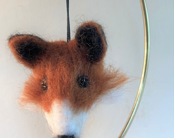 Smoky Mountain Animals: Red Fox magnet, ornament