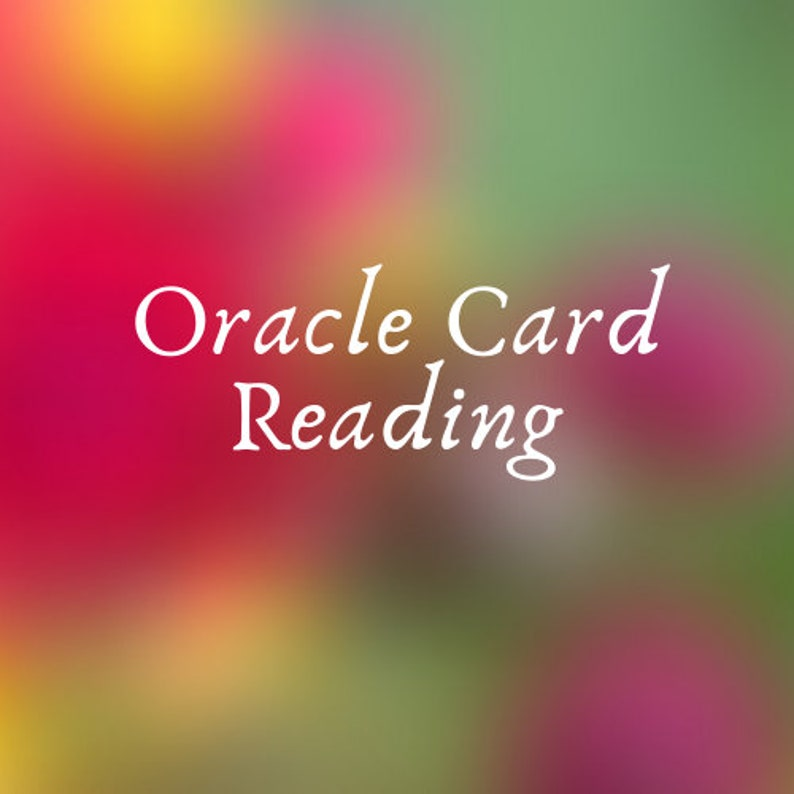 Oracle Card Reading // Psychic Oracle Card Message image 0