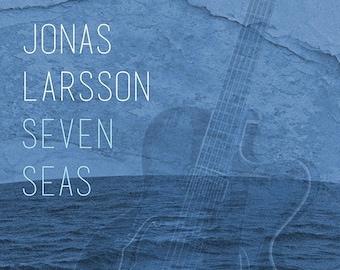 Jonas Larsson, Seven Seas, Smooth Jazz album, music CD,