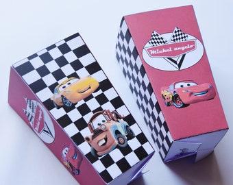 CARS custom popcorn box