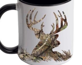 Deer Coffee Mug Etsy
