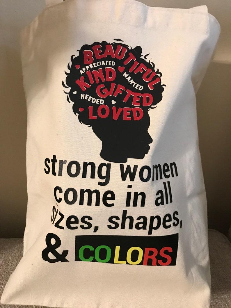 Tote Bag Strong Woman