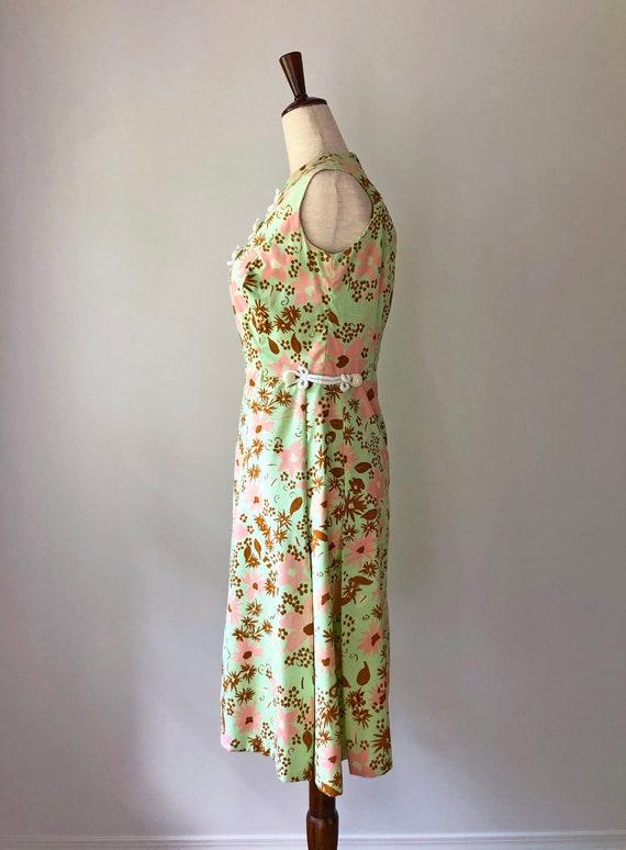 1960's Mod Dress - Vintage 60's Mini Dress - 60s … - image 3
