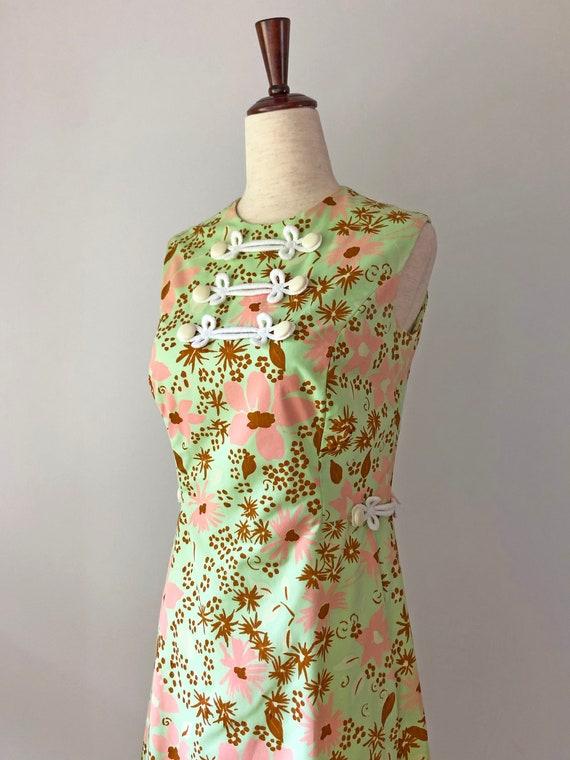 1960's Mod Dress - Vintage 60's Mini Dress - 60s … - image 7