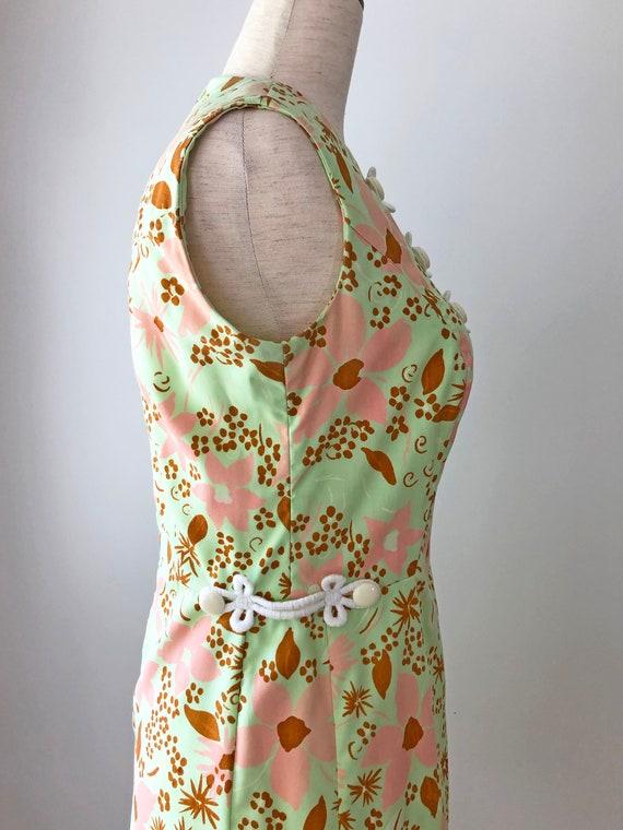 1960's Mod Dress - Vintage 60's Mini Dress - 60s … - image 6