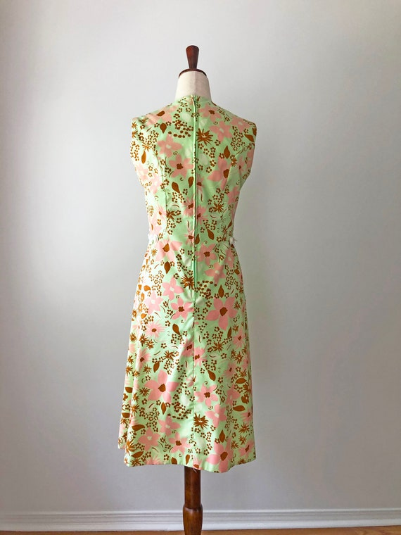 1960's Mod Dress - Vintage 60's Mini Dress - 60s … - image 4
