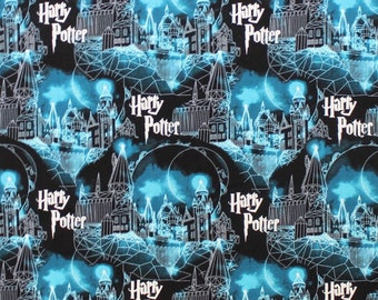 HARRY POTTER MYSTERY OF MAGIC Cotton Fabric Fat Quarter 1//2 YRD YARD Fabric