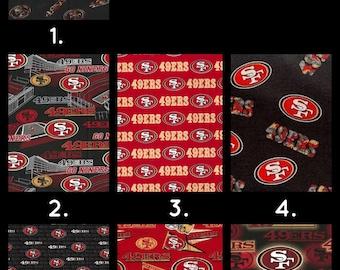 San Francisco 49ers Fabric 100% Cotton!