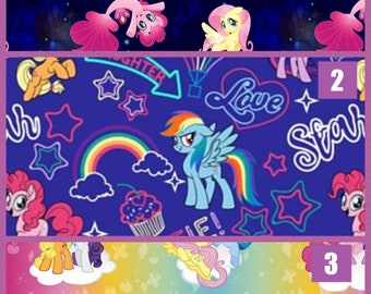 My Little Pony 100% Cotton Fabric By The Yard!