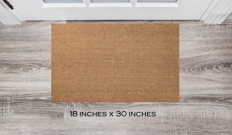 Wedding Gift Welcome Doormat Pick Your State Housewarming Gift Closing Gift Custom Doormat Front Door Mat   Personalized Doormat