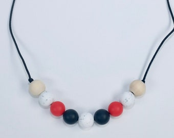 modern silicone necklace  | chewelry | modern mama | teething necklace | sensory necklace | fidget jewelry