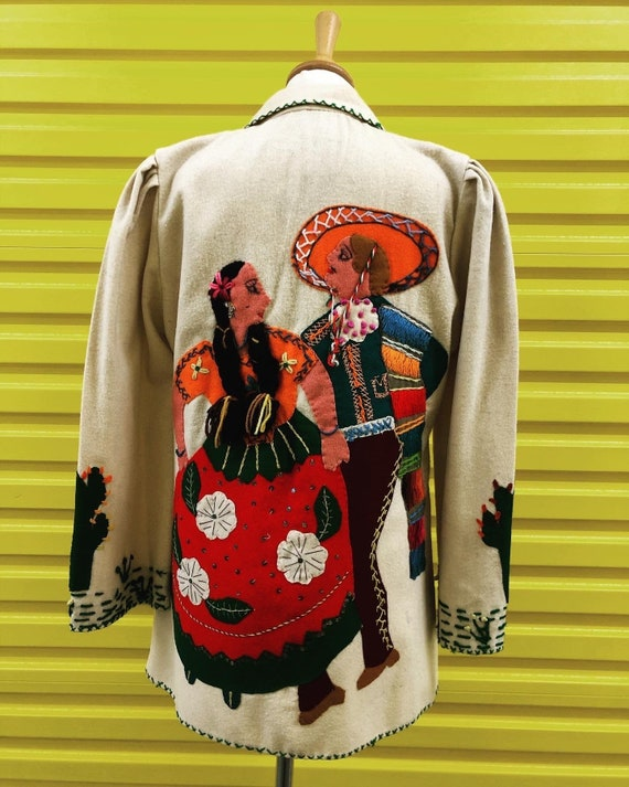 1940's Mexican Tourist Jacket