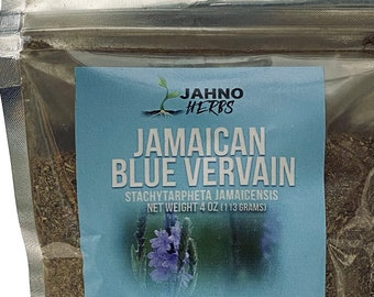 Jamaican Blue Vervain (Wildcrafted)(4oz)