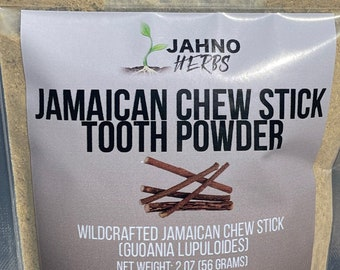Jamaican Chew Stick Powder