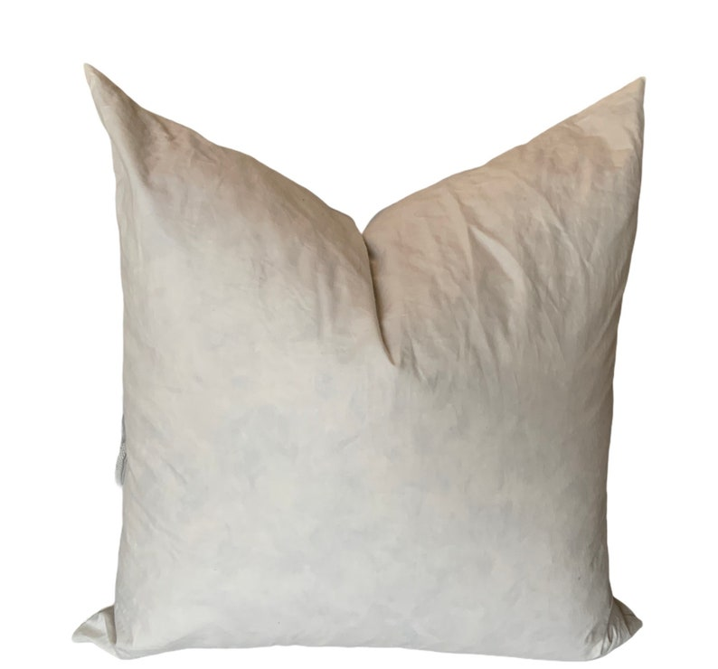 Pillow Inserts 16 18 20 22 inches Down feather mix fill