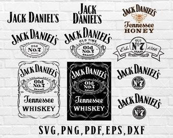 Jack Daniels Svg Etsy