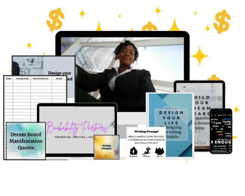 The Ultimate Vision Board Writers Motivation Kit  Dream image 0