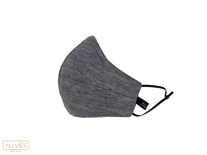 Dark Grey  Protective Face Mask  Washable & Reusable  image 0