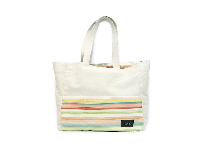 Ibiza Beach Bag  Tote Bag  Tote Bag Canvas  Canvas Bag  image 0