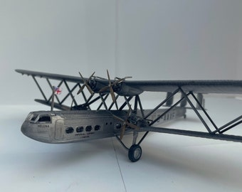 Handley Page H.P.45 1930's Airliner- built & weathered 1/48 model for display
