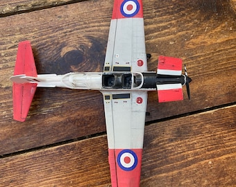 DHC Chipmunk T. Mk 10, Royal Air Force Markings - built & weathered 1/48 model for display