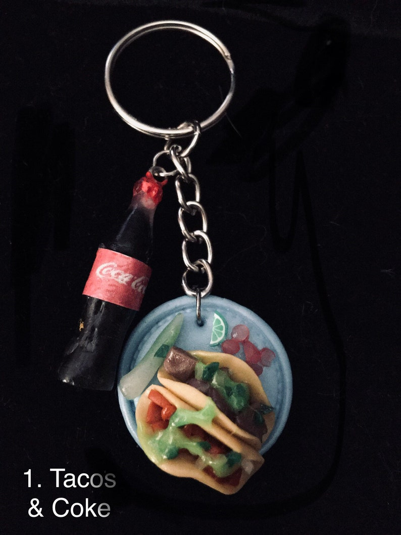 Cute unique detailed llaveros keychains from Mexico image 0
