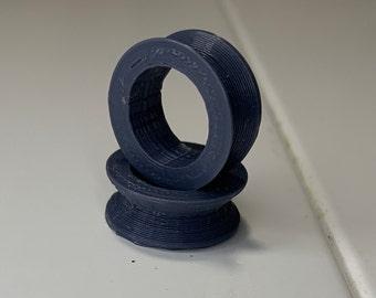 3D Printed PLA+ 2 Pack of Glowforge TEMP Gantry Wheel 12mm ID Printer time rental