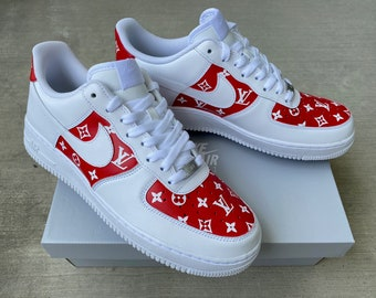 Nike Air Force 1 Pink Etsy
