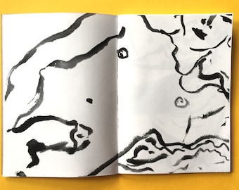 limited edition queer art zine - drawings volume 3  - COCK - gayzine queerzine lifedrawing