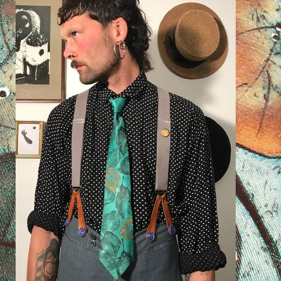 Hand Drawn Silk Tie