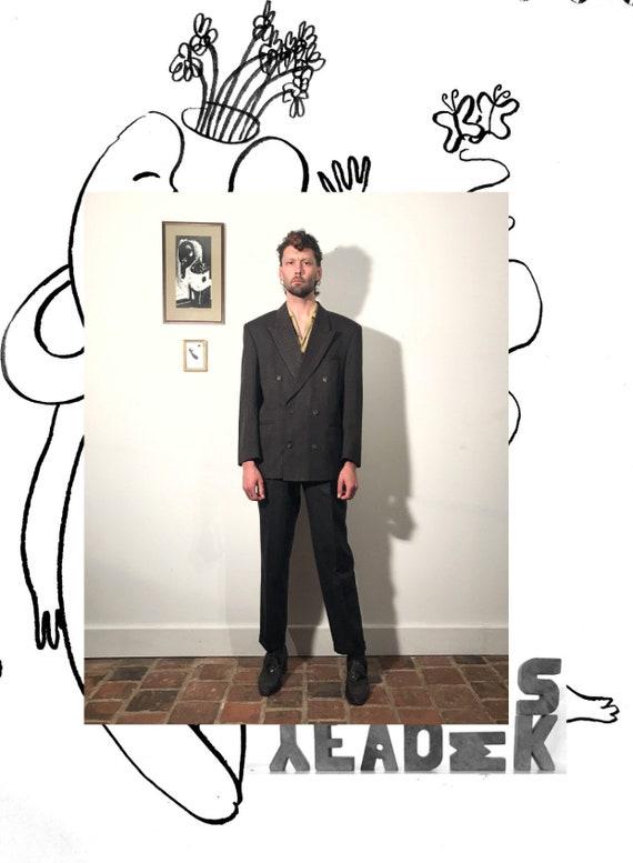 1950s Moulinier Suit