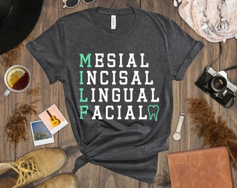 Dental Hygienist MILF Gift Mug Dentist Mesial Incisal Lingual Facial