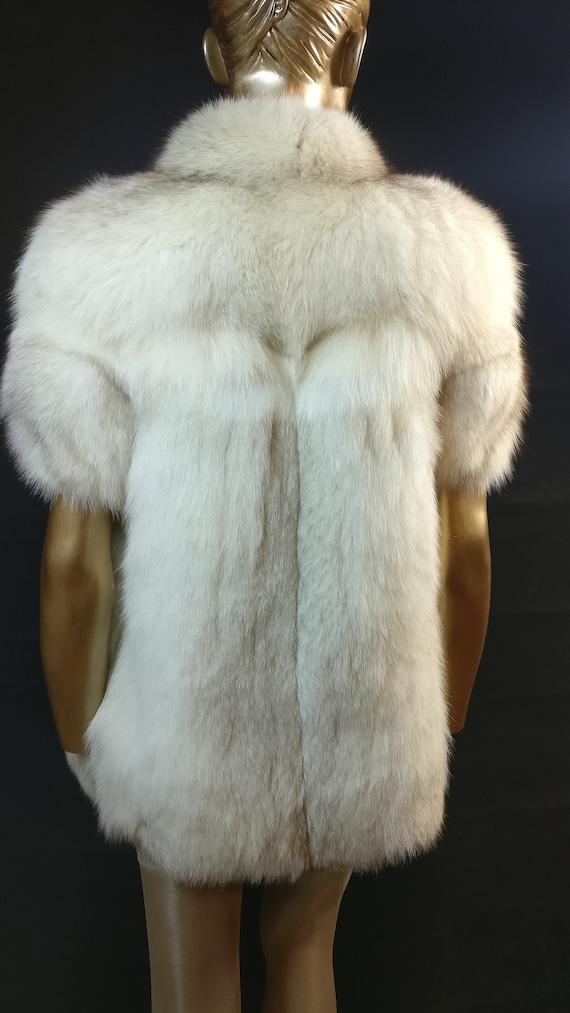 Vintage Fox Fur Waistcoat