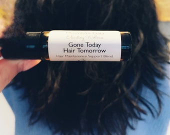 Hair Support, Pure Therapeutic, Essential Oils, Roller Bottle Blend