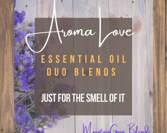 Aroma Love - Just For the Smell of It - Aromatherapy Rollerbottle Duos