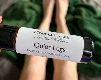 Restless Leg Support, Therapeutic, Essential Oils, Roller Bottle Blend, RLS