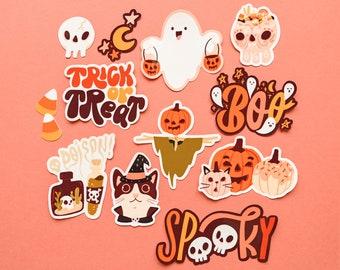Halloween Festivity Sticker Pack (12 pc stickers)