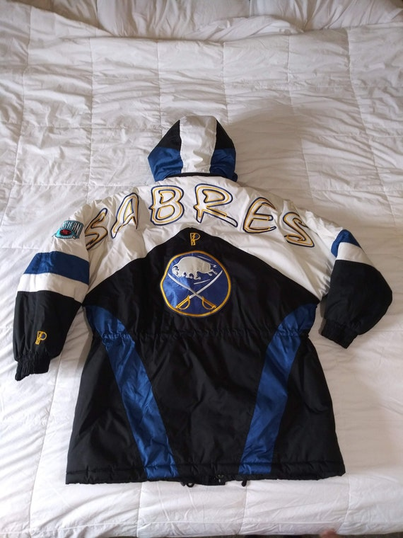 Vintage 90s Buffalo Sabres Trench Coat