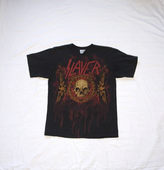 Vintage 90's Slayer Concert Tour Band T-Shirt