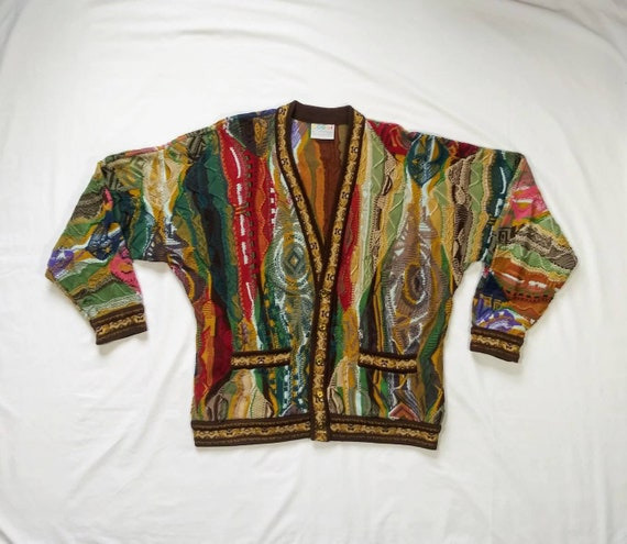Vintage Authentic 90's Coogi Cardigan Sweater